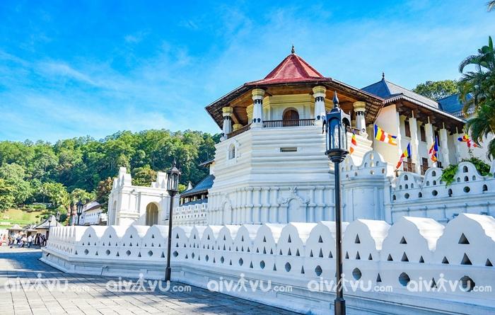 Kandy là thủ đô cuối cùng của hoàng gia Sri Lanka