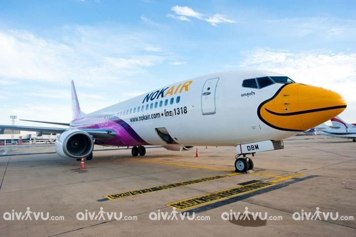 Thiết kế độc đáo của hãng hàng không Nok Air – Thái Lan