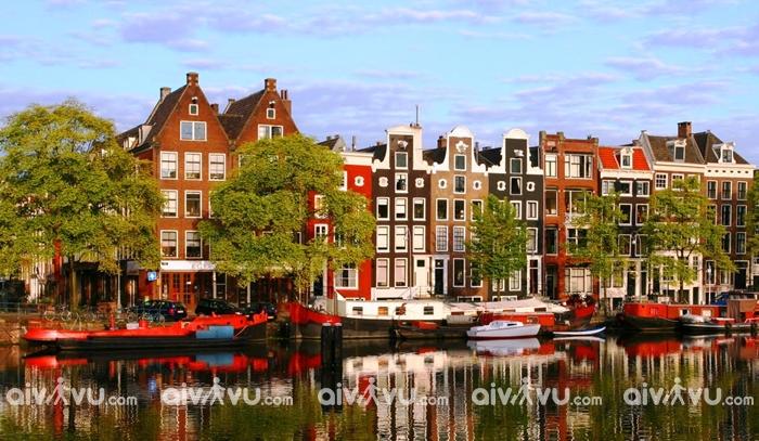 Thủ đô Amsterdam, Hà Lan có nguy cơ bị nhấn chìm trong biển nước