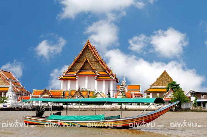 Thủ đô Bangkok của Thái Lan cũng nằm trong danh sách này