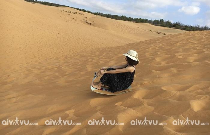 Trải nghiệm sa mạc tại Việt Nam với đồi cát Phương Mai – Quy Nhơn