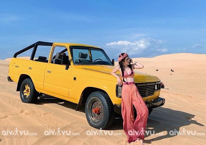 Trải nghiệm sa mạc tại Việt Nam với đồi cát Trắng Bình Thuận