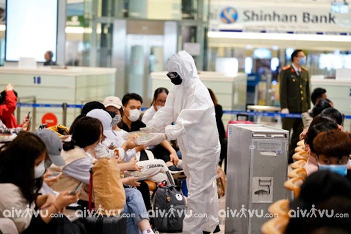 Trước chuyến bay nên làm gì để tránh dịch bệnh?