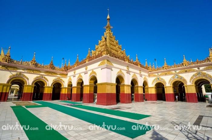 Vẻ đẹp kiêu sa của thánh tích Phật giáo Mahamuni