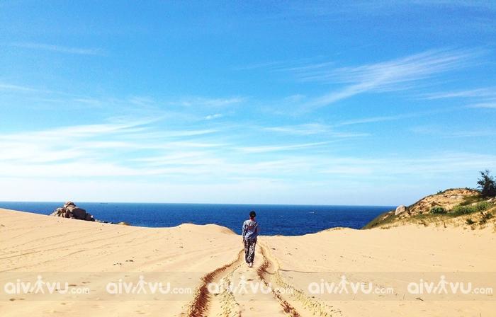 Vẻ đẹp nhẹ nhàng của đồi cát Nam Cương – Ninh Thuận
