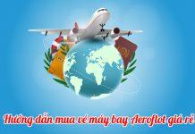 Hướng dẫn check vé máy bay Aeroflot