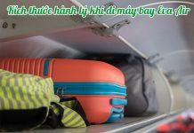 Kích thước hành lý khi đi máy bay Eva Air