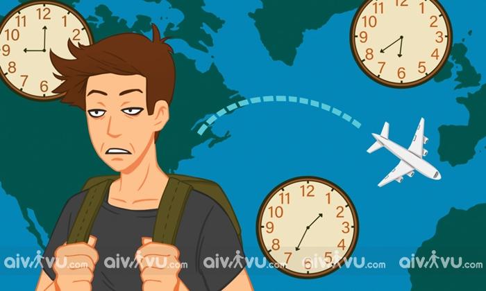 Nguyên nhân của tình trạng lệch múi giờ