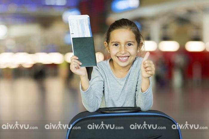 Quy định giấy tờ cho trẻ em đi máy bay Aeroflot
