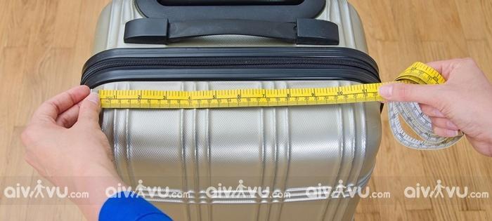 Kích thước hành lý ký gửi của Eva Air