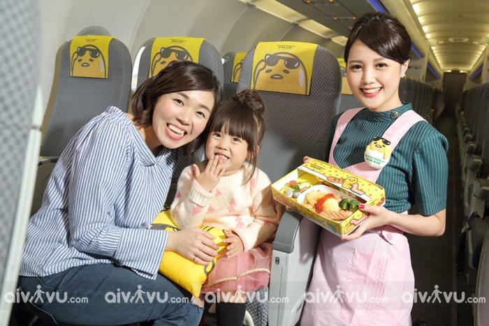 Quy định trẻ em đi máy bay của Eva Air