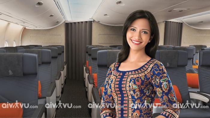 Singapore Airlines đào tạo tiếp viên hàng không như thế nào?