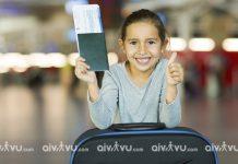 Trẻ em đi máy bay Eva Air cần giấy tờ gì?