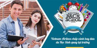Vietnam Airlines chấp cánh đưa du học sinh quay lại trường