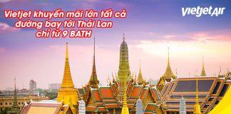 Trở lại bầu trời Vietjet Air khuyến mãi vé máy bay chỉ 6.500 VND