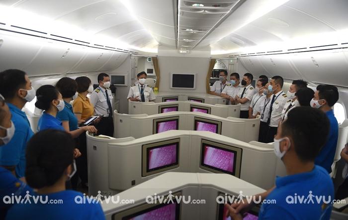 Chuyến bay đặc biệt của Vietnam Airlines đến Mỹ