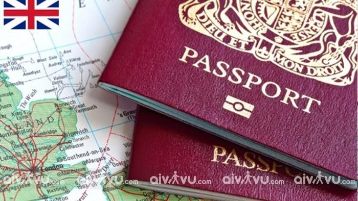 Giấy tờ xin visa thăm thân Anh