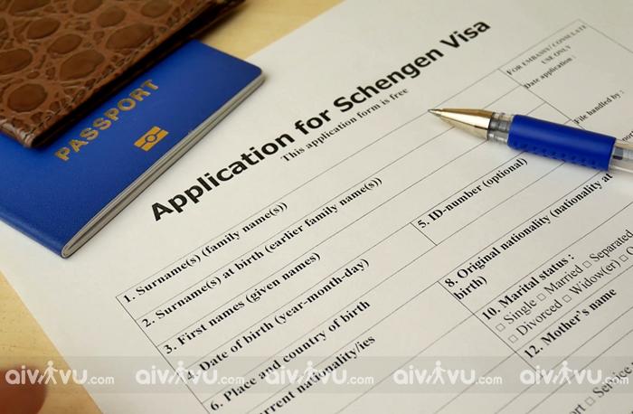 Hướng dẫn điền tờ khai xin visa Schengen chi tiết nhất