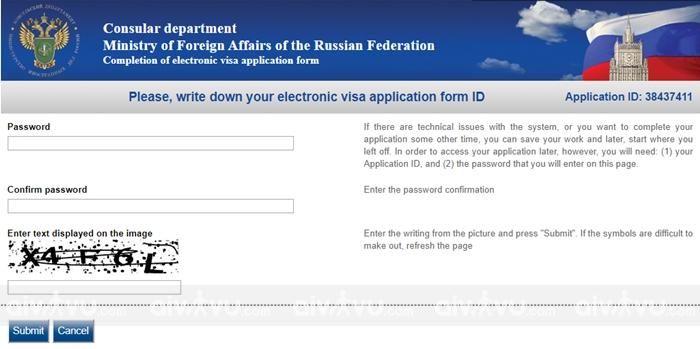 Hướng dẫn điền tờ khai xin visa Nga mới nhất (2)