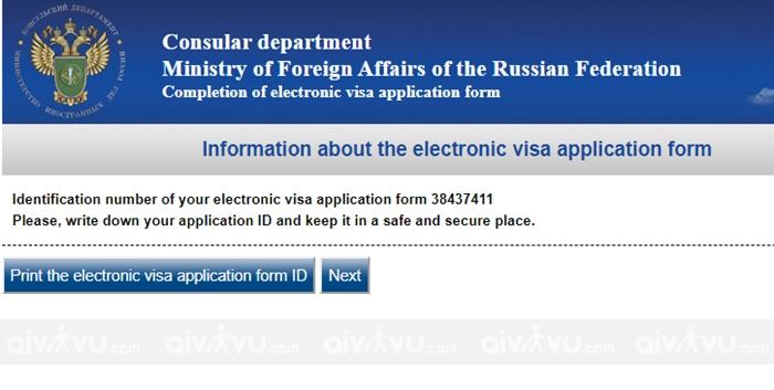 Hướng dẫn điền tờ khai xin visa Nga mới nhất (3)