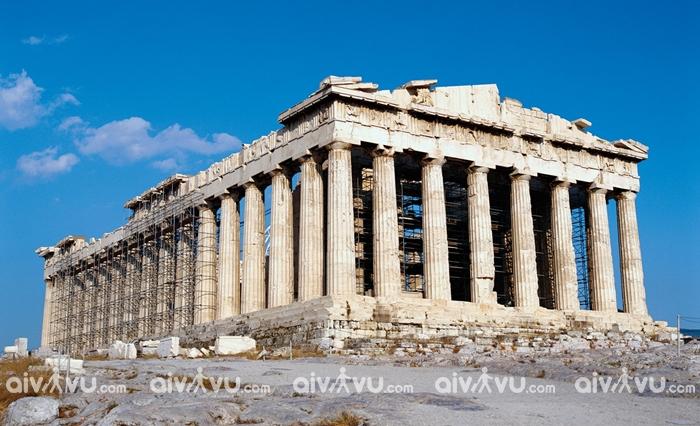 Tìm hiểu lịch sử về đền parthenon