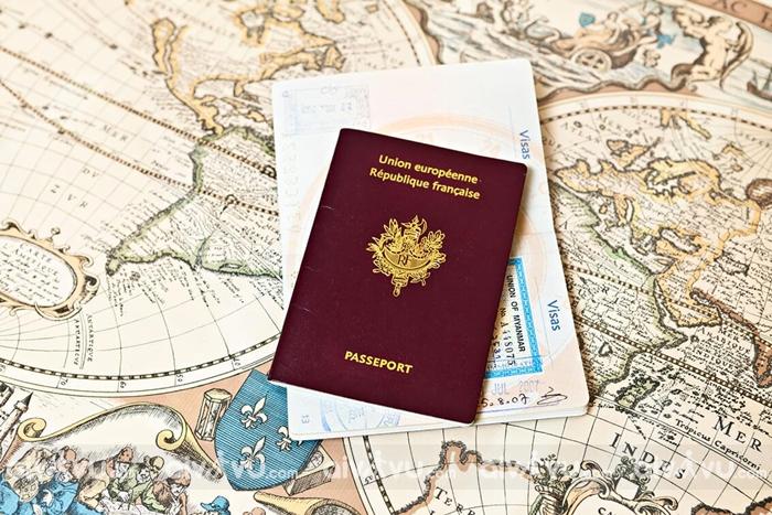 Kinh nghiệm xin visa Pháp tự túc visa Schengen Pháp
