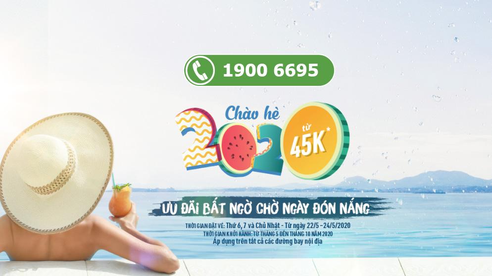 Siêu khuyến mãi chào hè từ Bamboo Airways vé máy bay chỉ 45.000 VND
