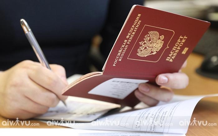 Aivivu – Địa chỉ xin visa Nga uy tín