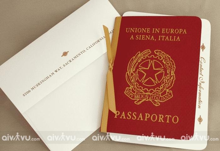 Kinh nghiệm xin visa Italia tự túc mới nhất