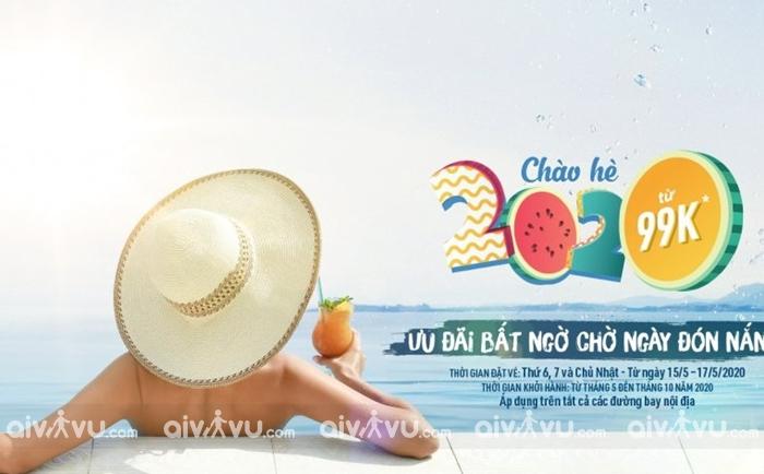 Khuyến mãi Bamboo Airways chào hè 2020 chỉ từ 99.000 VND