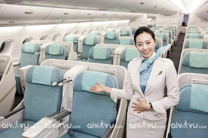Các hạng ghế của Korean Air