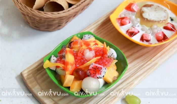Hoa quả Dầm món ăn giải nhiệt mùa hè