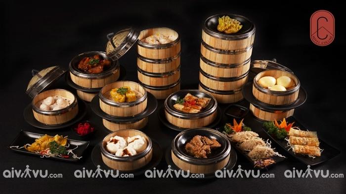 Hôtel Colline với khu ẩm thực đa dạng các món Âu, Nhật, Hoa, Thái, Việt.