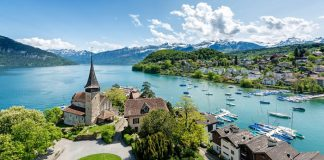 Khám phá những ngôi làng đẹp như tranh vẽ ở Thụy Sĩ
