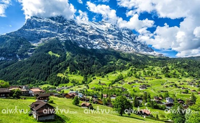 Làng Murren bức tranh thiên nhiên hoàn hảo của Thụy Sĩ