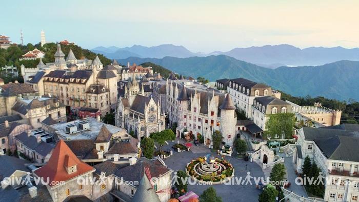 Khu làng Pháp mang kiến trúc cổ điển, sang trọng của Châu Âu