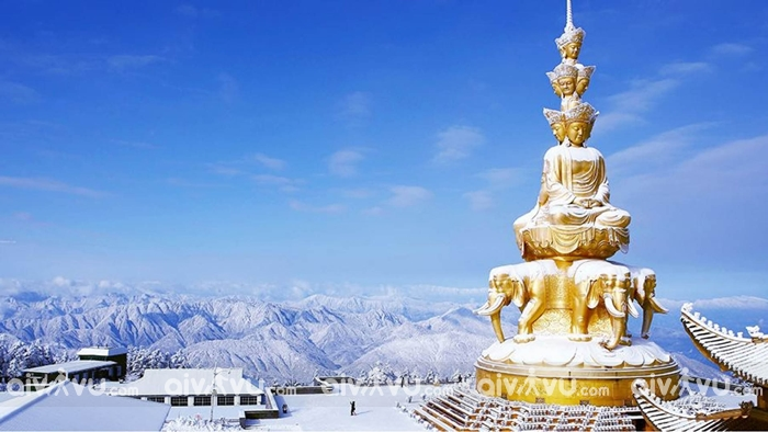 Du lịch tâm linh tại 4 ngọn núi thiêng ở Trung Quốc