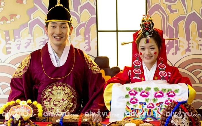 Nghi lễ trong đám cưới cổ truyền của Hàn Quốc