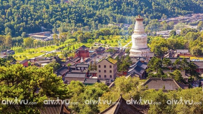 Ngũ Đài Sơn 1 trong 4 ngọn núi thiêng ở Trung Quốc