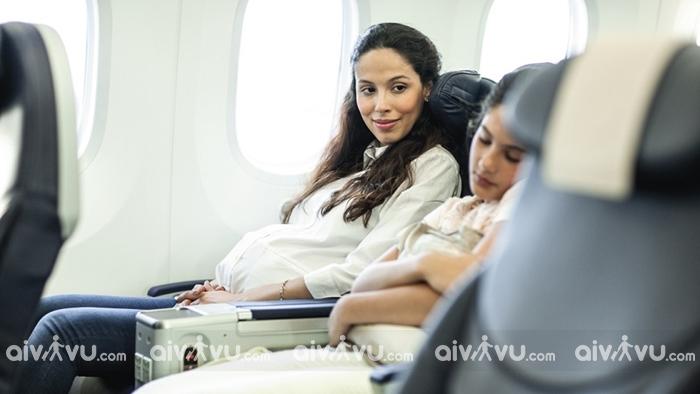 Quy định China Airlines dành cho bà bầu đi máy bay