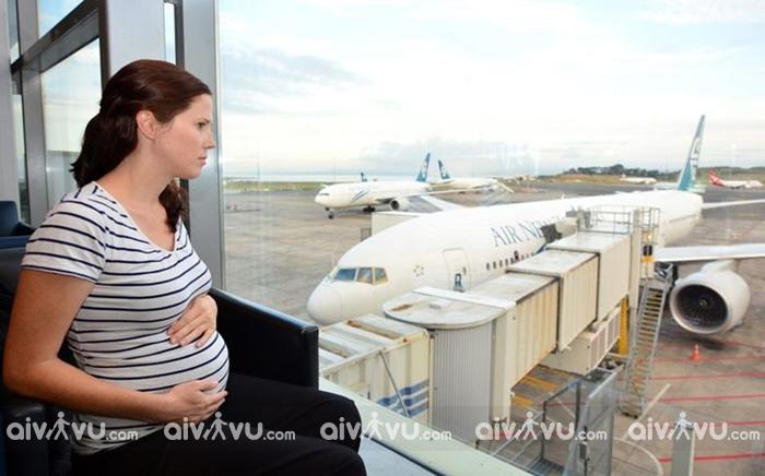 Quy định đi máy bay cho bà bầu của Korean Air