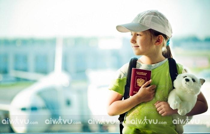 Quy định giấy tờ tùy thân đối với trẻ em