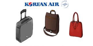 Quy định hành lý xách tay Korean Air mới nhất