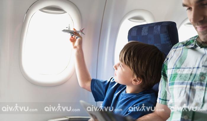Quy định trẻ em đi máy bay China Airlines