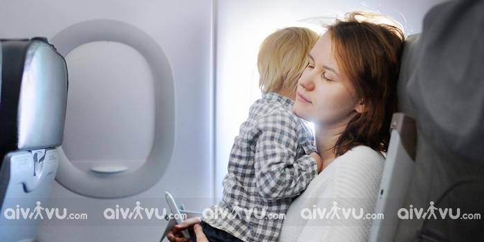 Quy định vận chuyển trẻ em đi máy bay Korean Air