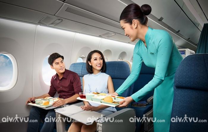 Suất ăn và đồ uống hạng ghế phổ thông đặc biệt Vietnam Airlines