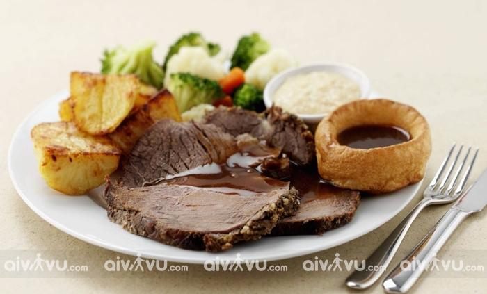 Sundy Roast món ăn quốc hồn quốc túy của Anh