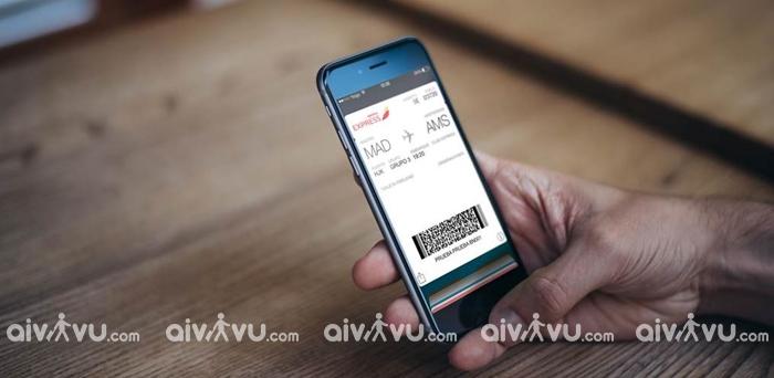 Thẻ lên máy bay tự in khi check in online China Airlines