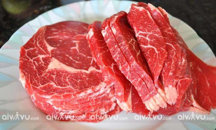 Thịt bò Úc món ăn tự hào của người Úc