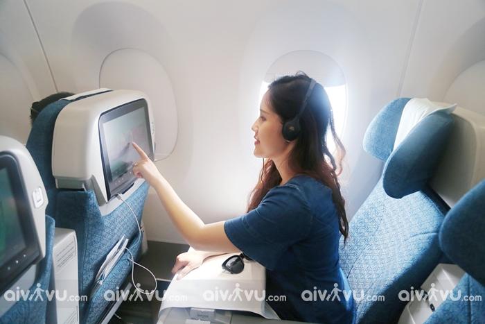 Tiện nghi ghế ngồi hạng phổ thông đặc biệt Vietnam Airlines